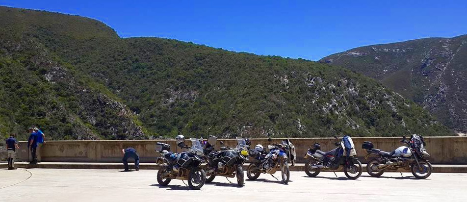 Kouga Dam Wall