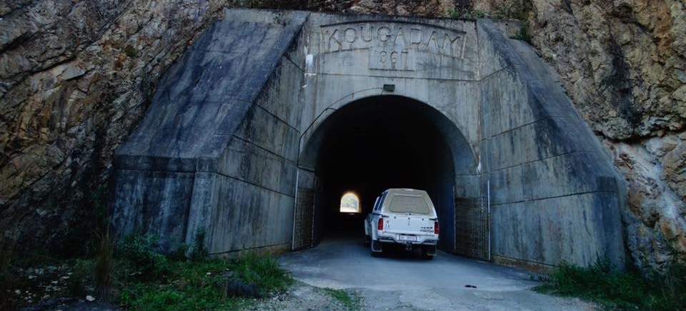 A 1967 Tunnel Kouga Dam