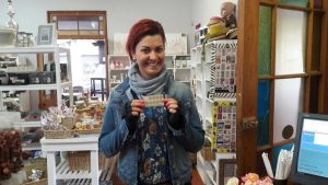 First Loyalty Card User - Marieka Mostert