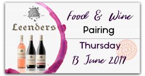 Leenders Food & Wine Pairing