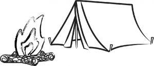 Camping at Gonjah